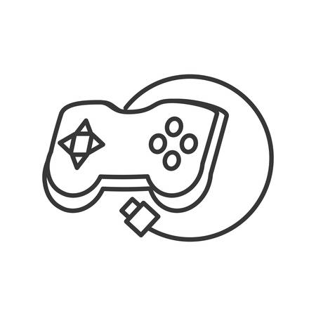 video control game isolated icon vector illustration design