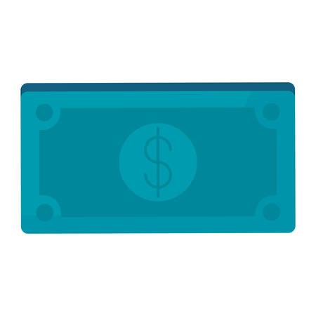 bills dollars money icon vector illustration design Ilustração
