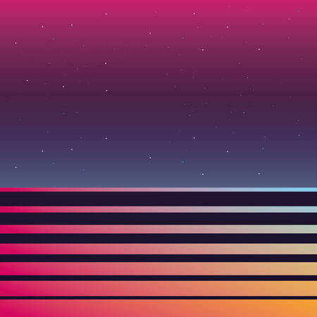 abstract blurred stripes gradient background vector illustration Imagens - 132156104