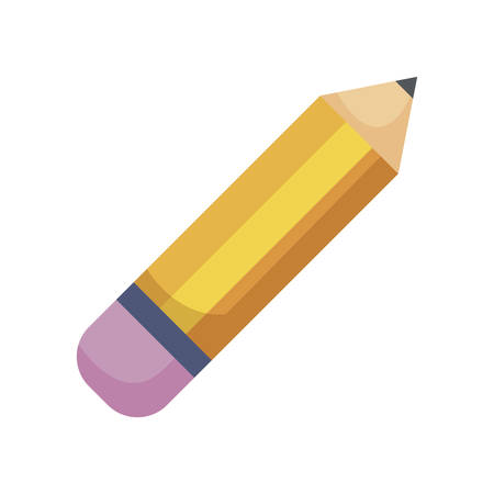 pencil writer isolated icon vector illustration design Stock Illustratie