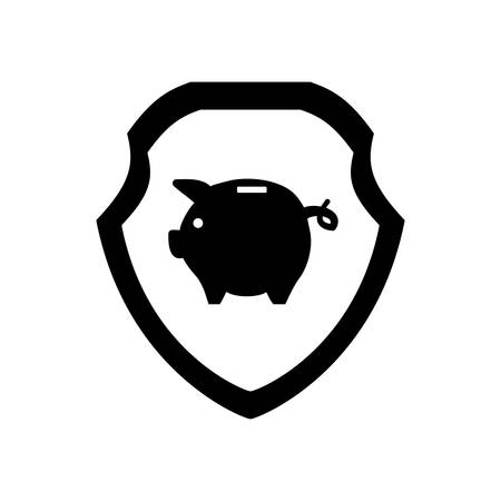 piggy savings isolated icons vector illustration design