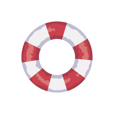 float lifeguard summer accessory icon vector illustration design