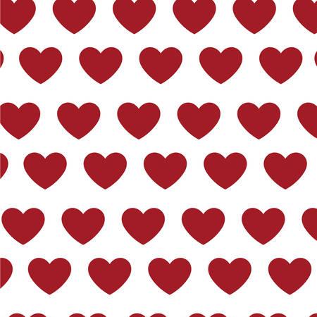 hearts love pattern icons vector illustration design Standard-Bild - 133148631