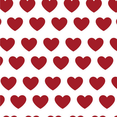 hearts love pattern icons vector illustration design Standard-Bild - 133148232