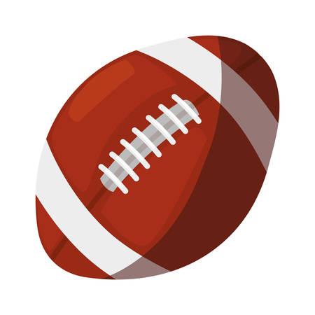 rugby ball sport vector illustration design graphic Archivio Fotografico - 133153217