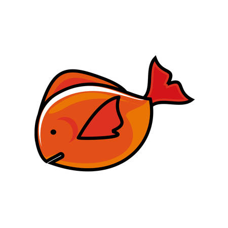 fresh fish food icon vector illustration design