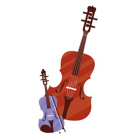 fiddle instrument musical icon vector illustration design Фото со стока - 133418043