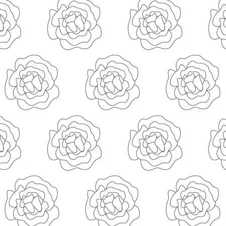 pattern of beautiful flowers nature vector illustration design Reklamní fotografie - 133768567