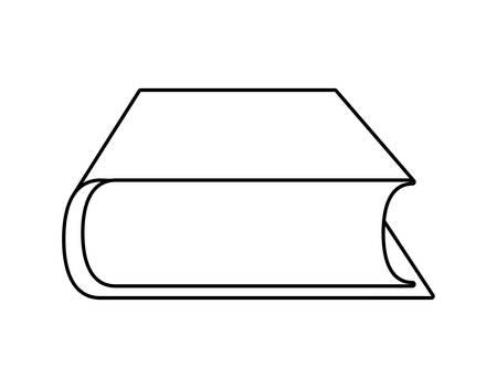text book education isolated icon vector illustration design Illusztráció