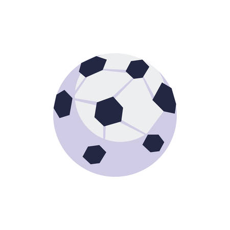 soccer balloon sport isolated icon vector illustration design Ilustracja