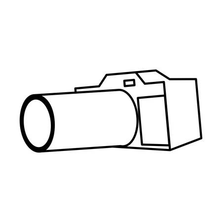 Camera icon design, Device gadget technology photography equipment digital and photo theme Vector illustration Banque d'images - 133582056