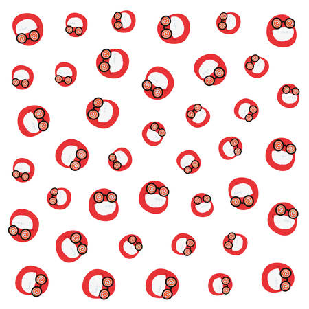 emoji faces april fools day background vector illustration Reklamní fotografie - 133849887