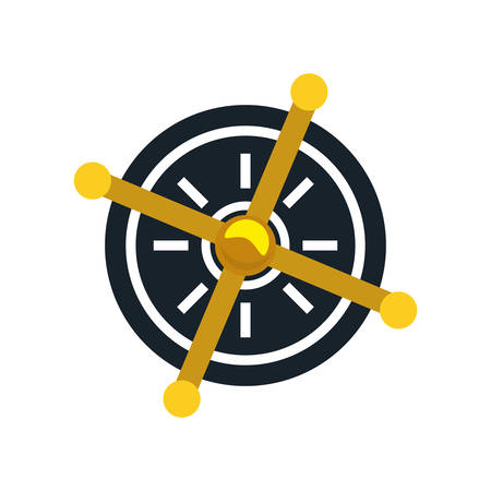 safe deposit box icon vector illustration design