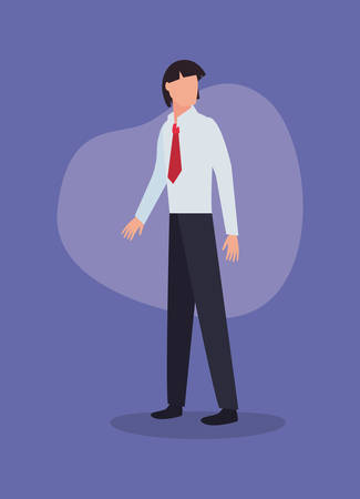 man character male gesture design vector illustration