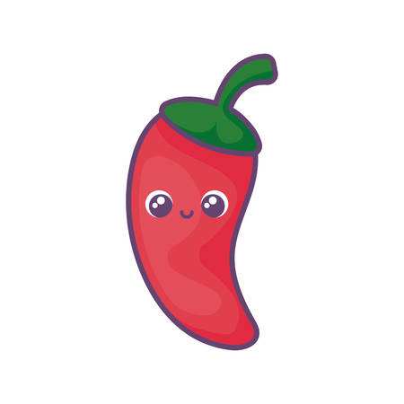 peppers mexican in white background vector illustration design Ilustracja
