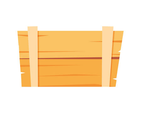 Box design, Delivery shipping logistics transportation distribution and merchandise theme Vector illustration 일러스트