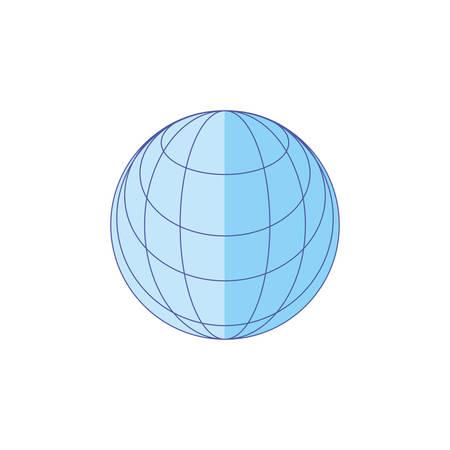 sphere browser technology isolated icon vector illustration design 版權商用圖片 - 134049386