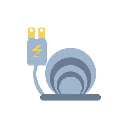energy plug electric isolated icon vector illustration design Иллюстрация