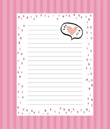 checklist document with supply vector illustration design