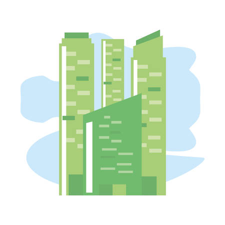 facade building urban isolated icon vector illustration design