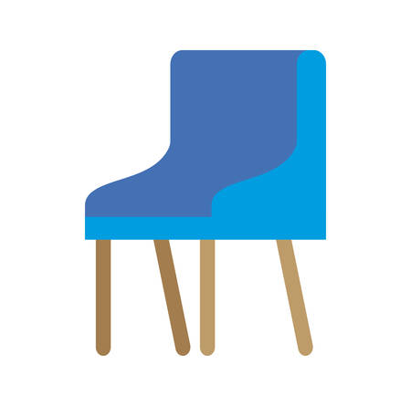 waiting room chair icon vector illustration design