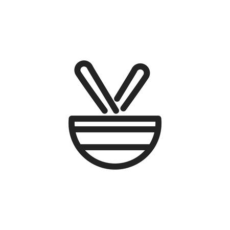 bowl design, Kitchen supply domestic household tool cooking and restaurant theme Vector illustration