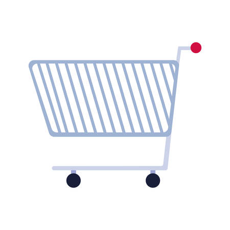 shopping cart design, Commerce market store retail paying and buying theme Vector illustration