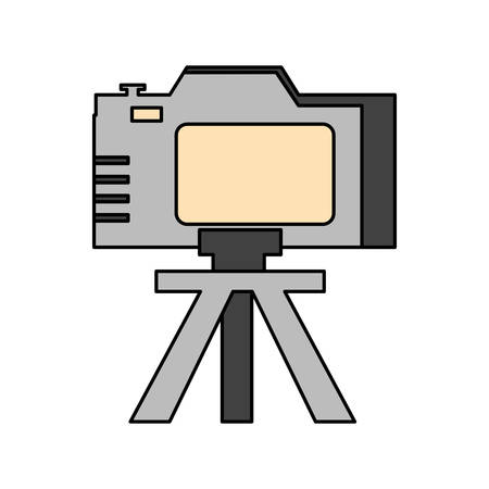 Camera icon design, Device gadget technology photography equipment digital and photo theme Vector illustration