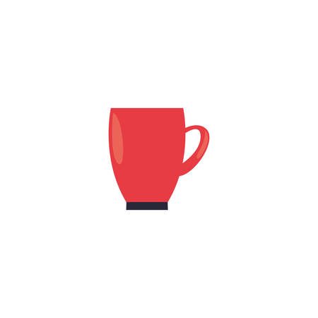 Kitchen mug icon design, Supply domestic household tool cooking restaurant and domestic theme Vector illustration Imagens - 134281098