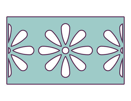 garland mexican traditional isolated icon vector illustration design