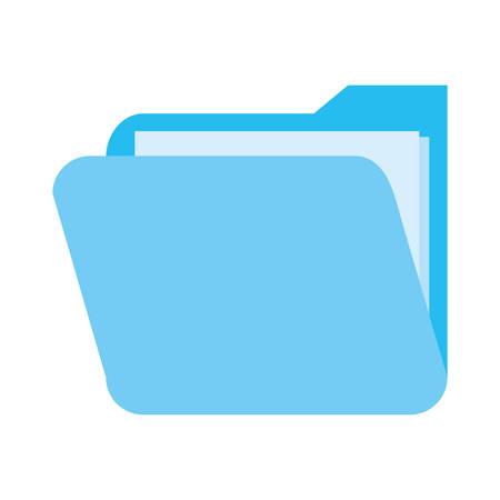 folder file cybersecurity data protection vector illustration Stock fotó - 134493378