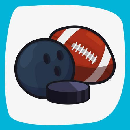 soccer baseball basketball balls sport vector illustration design
