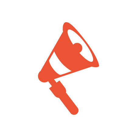 sound megaphone audio isolated icon vector illustration design