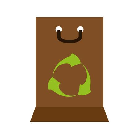 ecology leafs plant icon vector illustration design Ilustracja