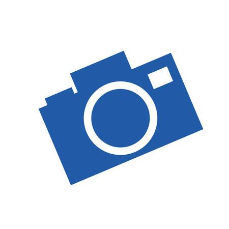 camera photographic silhouette desing vector illustration