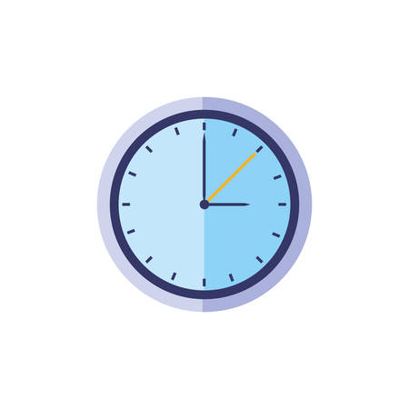 time clock watch isolated icon vector illustration design Stok Fotoğraf - 134629362