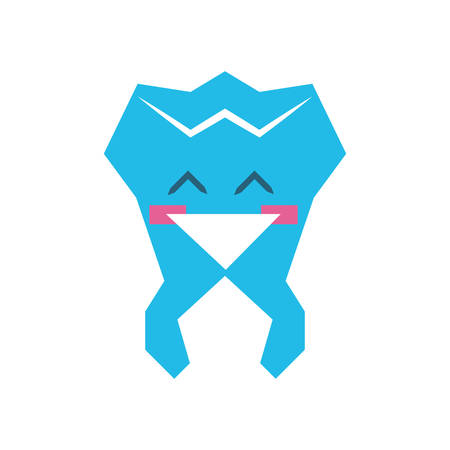 tooth human   character vector illustration design