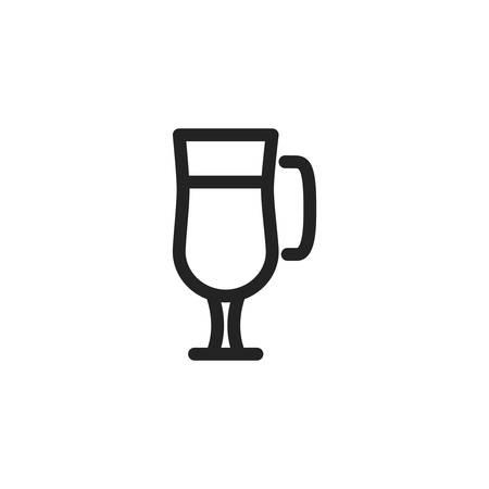 Cup icon design, Drink beverage liquid menu restaurant store and shop theme Vector illustration 版權商用圖片 - 134690703