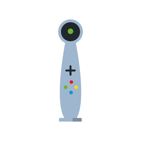 joystick for video game isolated icon vector illustration design