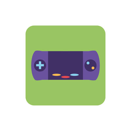 videogame console on white background vector illustration design Stock Vector - 134754662