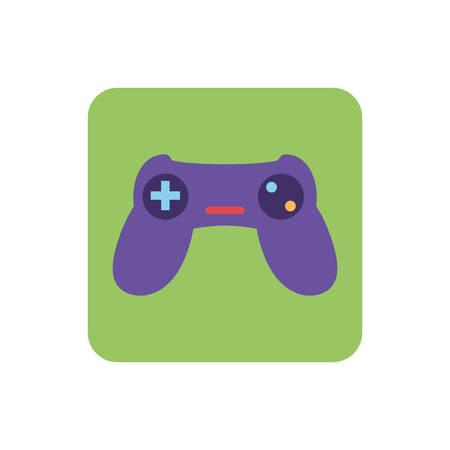 videogames control on white background vector illustration design