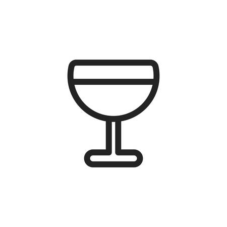 Cup icon design, Drink beverage liquid menu restaurant store and shop theme Vector illustration