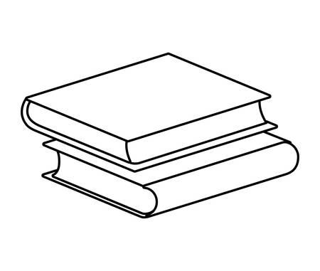 pile of textbooks isolated icon vector illustration design 版權商用圖片 - 134902595