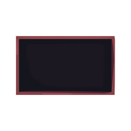 blackboard equipment back to school vector illustration