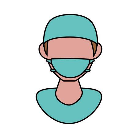 professional dentist avatar character