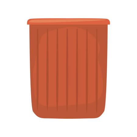 bucket cleaning supply on white background vector illustration 일러스트