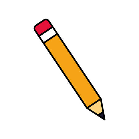 pencil to write on white background vector illustration design vector illustration design