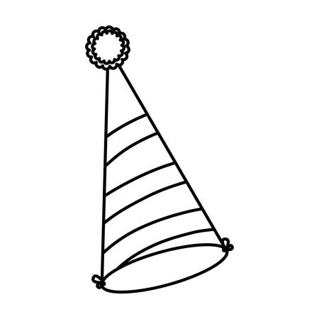 party celebration hat icon vector illustration design