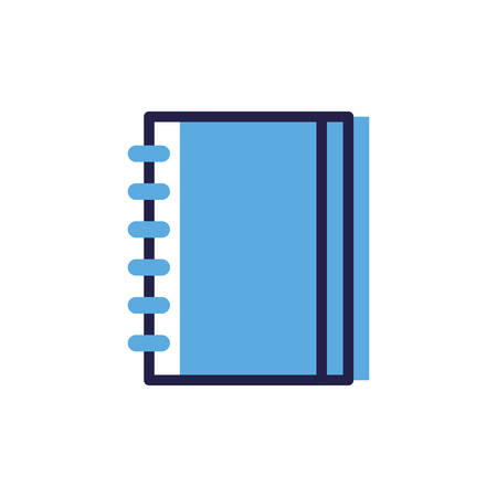 closed book on white background vector illustration design Illustration