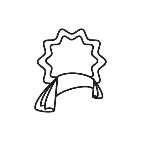 lace seal stamp isolated icon vector illustration design